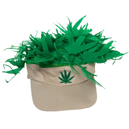 Gag Gifts - Pot Head Visor Hat