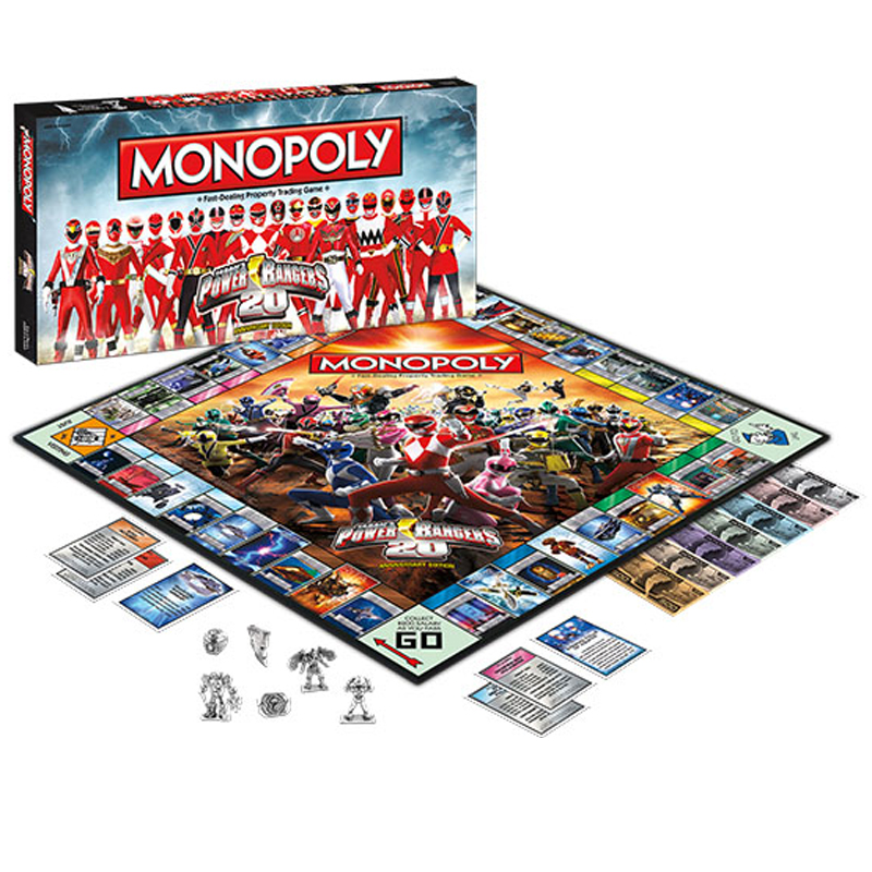 Gag Gifts - Power Rangers Monopoly