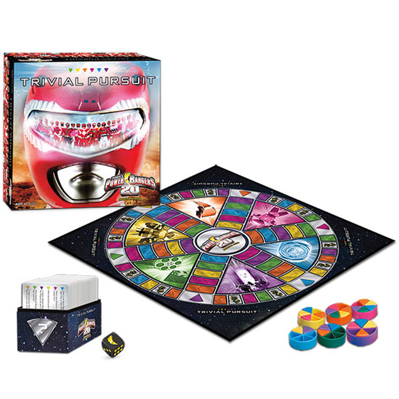 Gag Gifts - Power Rangers Trivial Pursuit