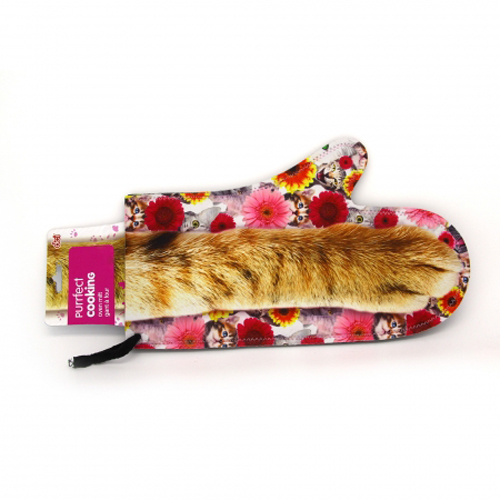 Gag Gifts - Purrfect Cooking Oven Mitt