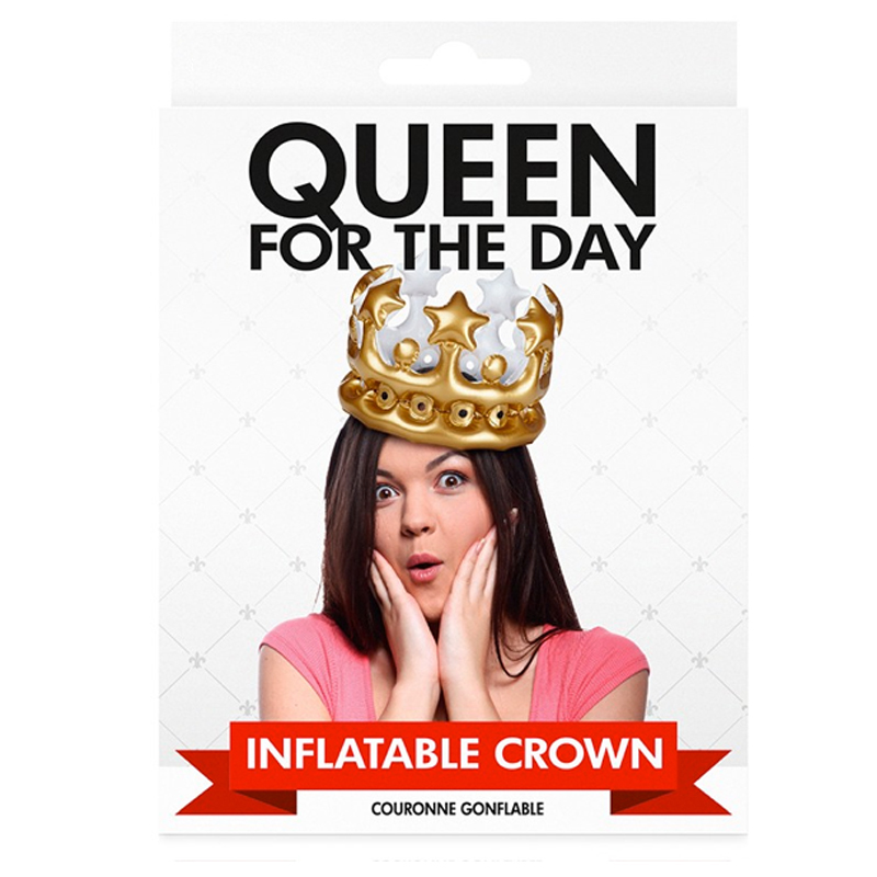 Gag Gifts - Queen for the Day
