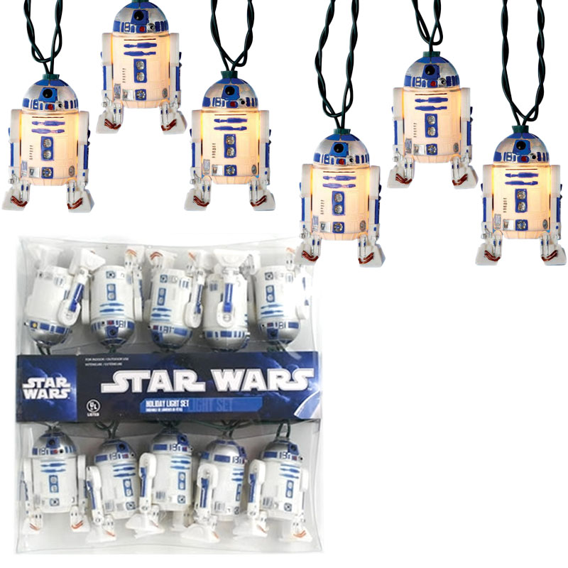 Gag Gifts - R2D2 String Light Set