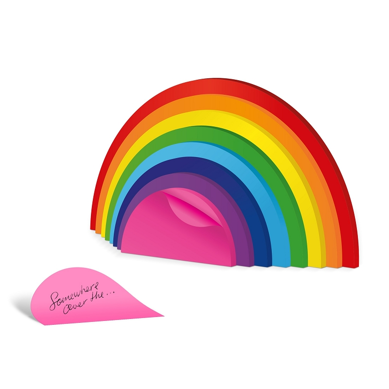 Gag Gifts - Rainbow Sticky Notes