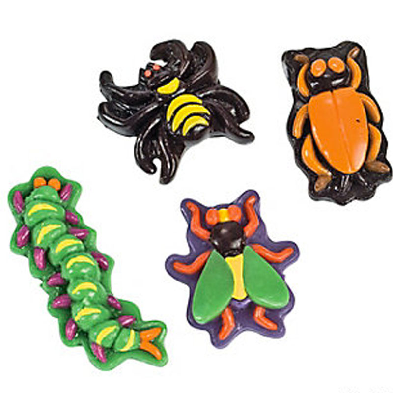 Gag Gifts - Realistic Gummy Bugs (Pack of 46)