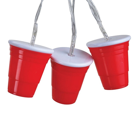 Gag Gifts - Red Cup String Party Lights