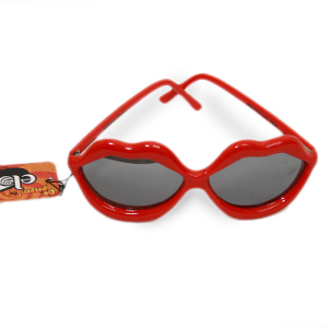 Gag Gifts - Red Lips Mirror Glasses