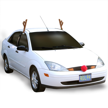 Gag Gifts - Red-Nosed Reindeer Car Kit
