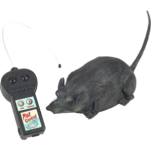 Gag Gifts - Remote Control Rat