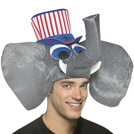 Gag Gifts - Republican Elephant Hat