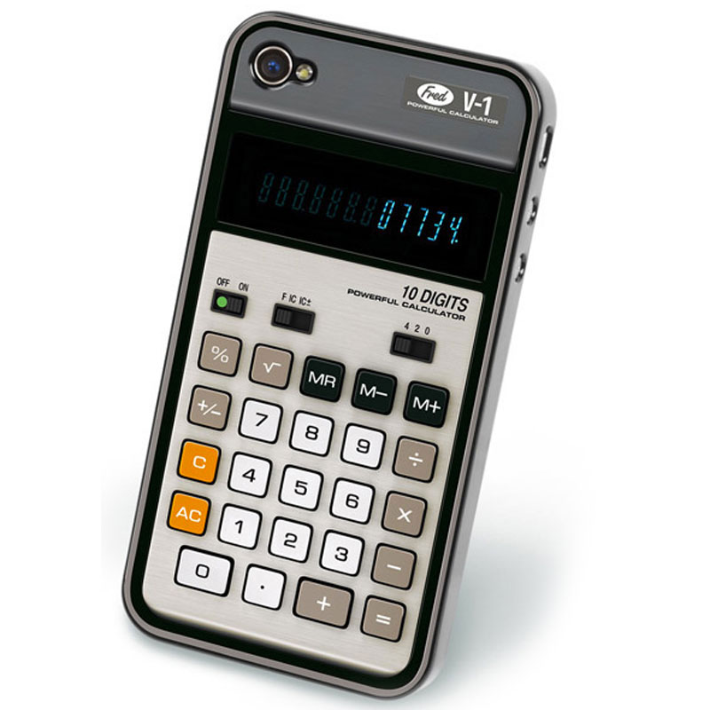 Gag Gifts - Retro Calculator IPhone5 Cover