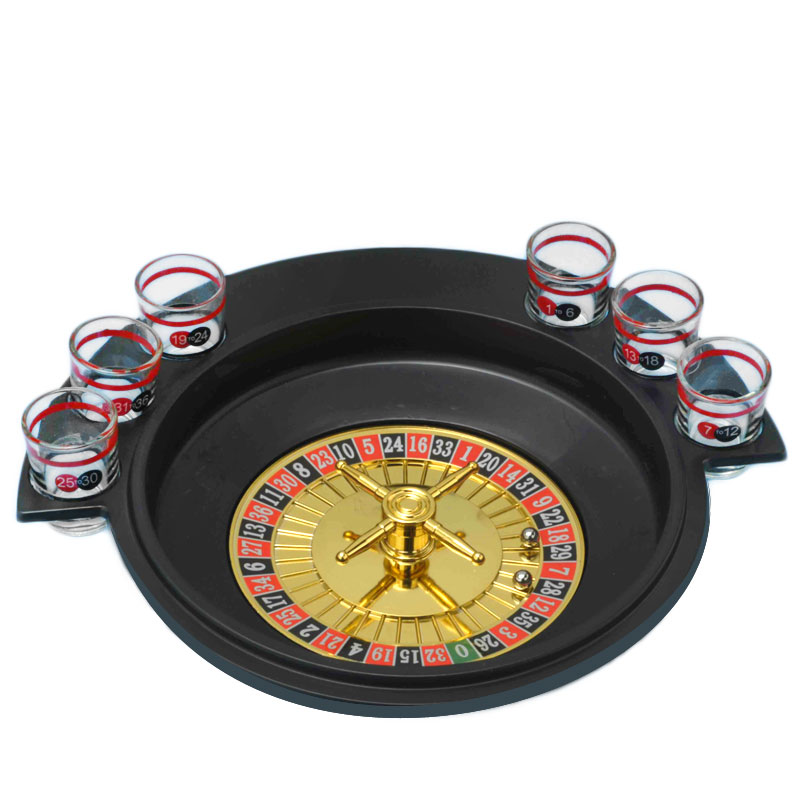 Gag Gifts - Roulette Drinking Shot Game