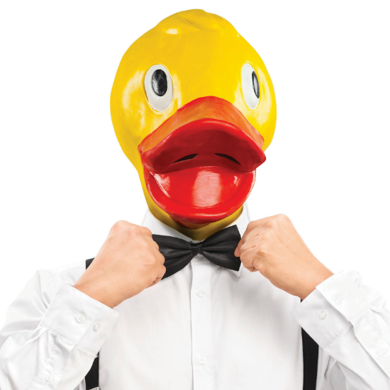 Gag Gifts - Rubber Duckie Mask