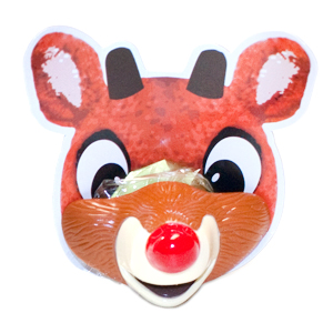 Gag Gifts - Rudolph's Red Nose Lip Pops