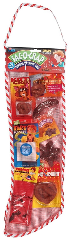 Gag Gifts - Sac-O-Crap Stocking