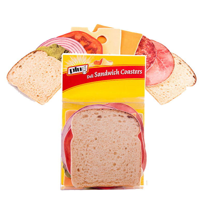 Gag Gifts - Sandwich Coasters