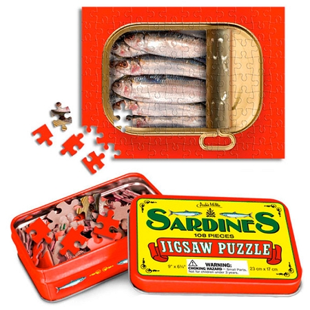 Gag Gifts - Sardine Puzzle