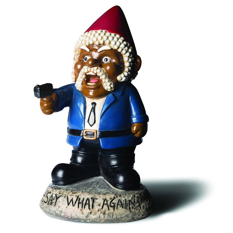 Gag Gifts - Say What Again? Garden Gnome