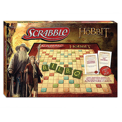 Gag Gifts - Scrabble Game: The Hobbit