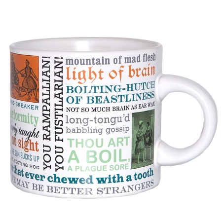 Gag Gifts - Shakespearean Insults Mug