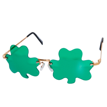 Gag Gifts - Shamrock Glasses