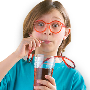 Gag Gifts - Silly Straw Eyeglasses
