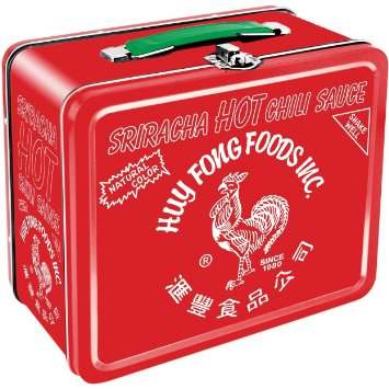 Gag Gifts - Siriracha Sauce Lunch Box
