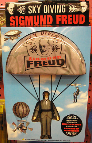 Gag Gifts - Sky Diving Freud