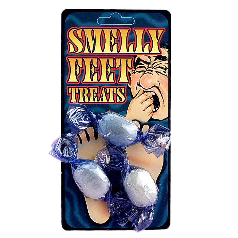 Gag Gifts - Smelly Feet Treats Candy