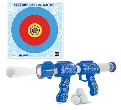 Gag Gifts - Snowtime Snowball Blaster