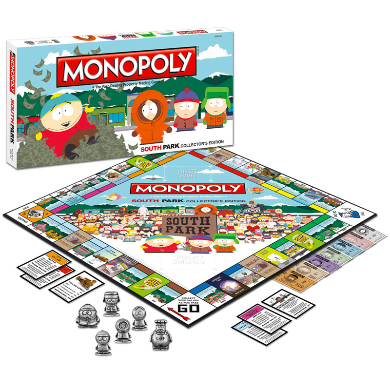 Gag Gifts - South Park Monopoly
