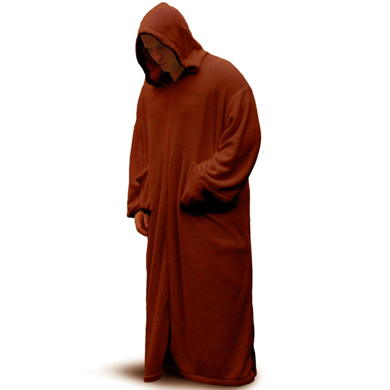 Gag Gifts - Space Robe: Star Wars Brown Fleece Robe