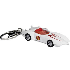 Gag Gifts - Speed Racer Mach 5  Light Up Keychain