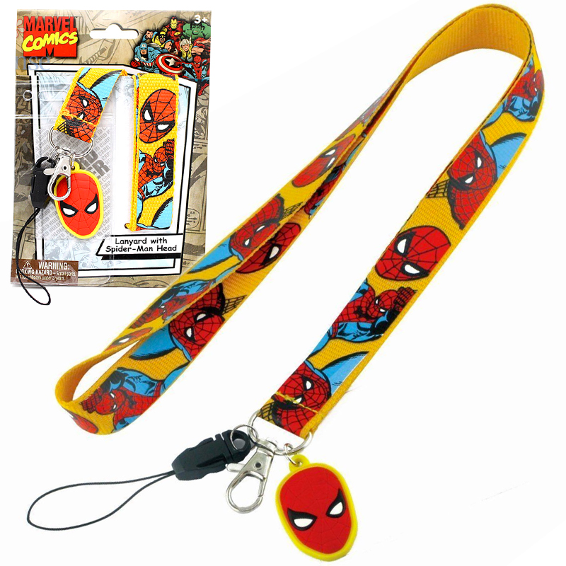 Gag Gifts - Spiderman Lanyard Necklace