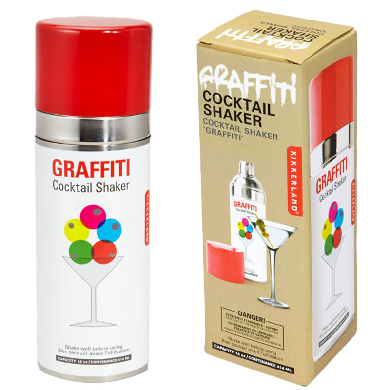 Gag Gifts - Spray Paint Graffiti Cocktail Shaker
