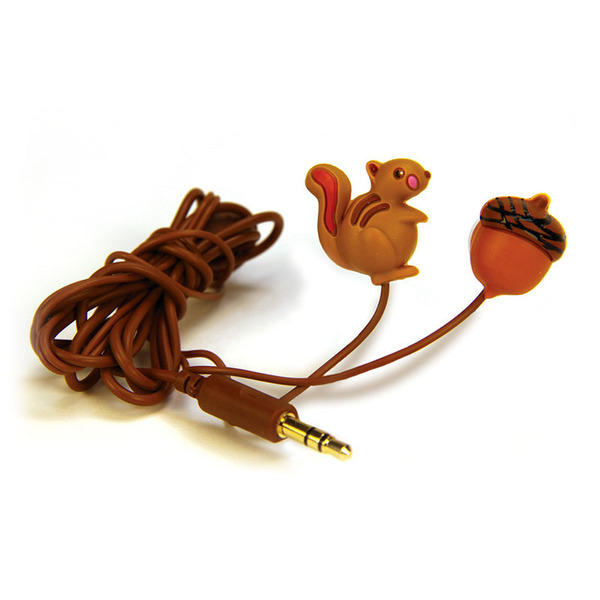 Gag Gifts - Squirrel & Nut Earbuds