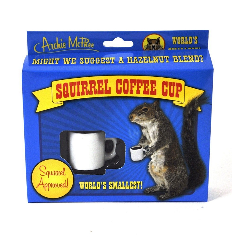 Gag Gifts - Squirrel Coffee Cup