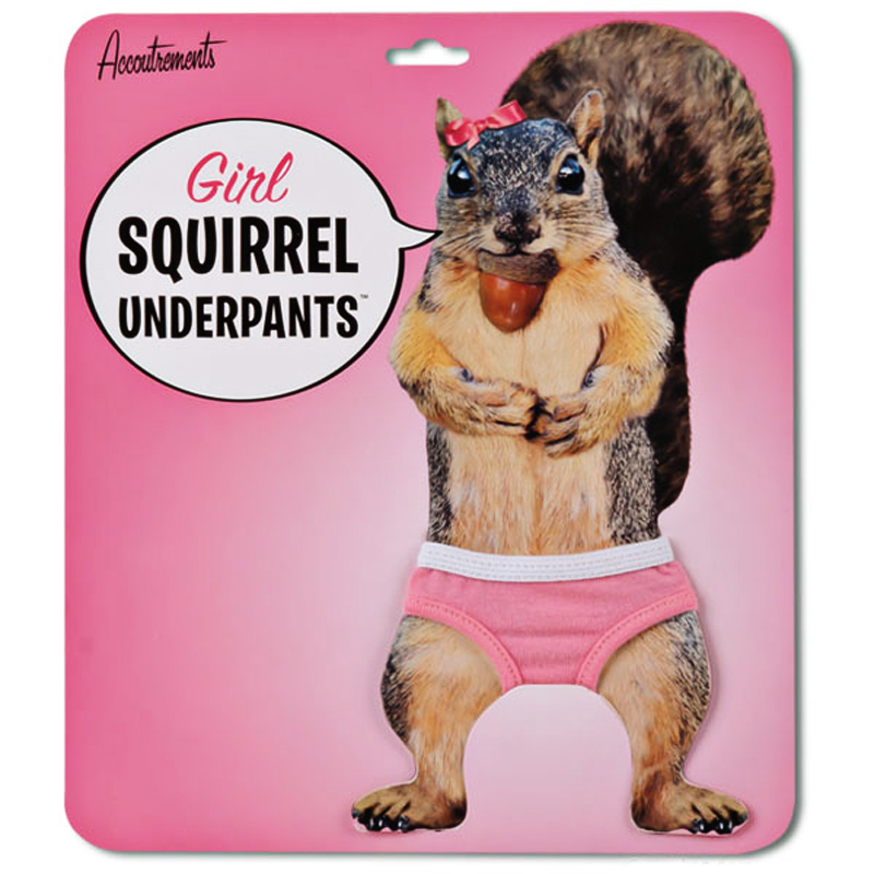 Gag Gifts - Squirrel Underpants for Girls