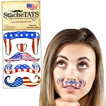 Stache Tats: Old School Temporary Mustache Tattoos