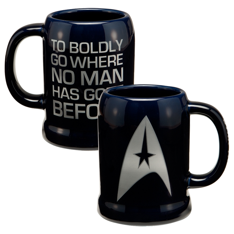 Gag Gifts - Star Trek: Ceramic Stein
