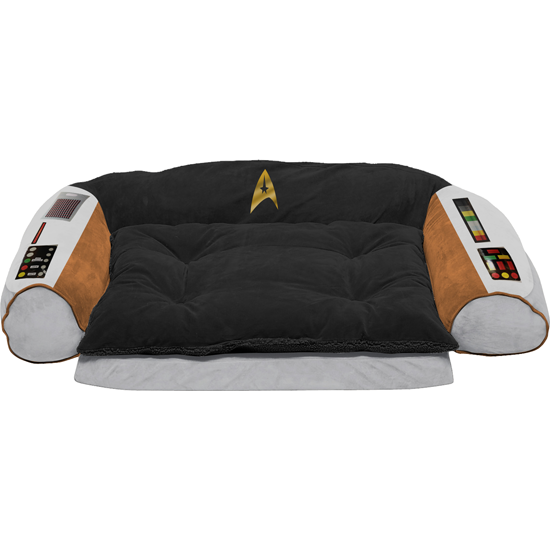Gag Gifts - Star Trek: Small/ Medium Captain's Chair Dog Bed