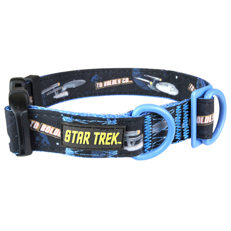 Gag Gifts - Star Trek: X-Large To Go Boldly Collar