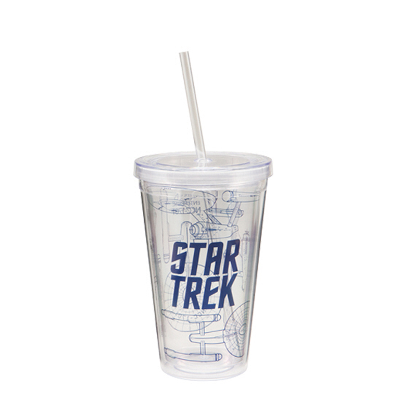 Gag Gifts - Star Trek 18 oz. Acrylic Travel Cup