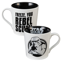 "Star Wars: ""Freeze You Rebel Scumbag"" Mug"