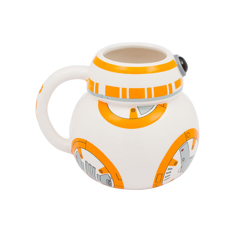 Gag Gifts - Star Wars: BB-8 Ceramic Sculpted Mug