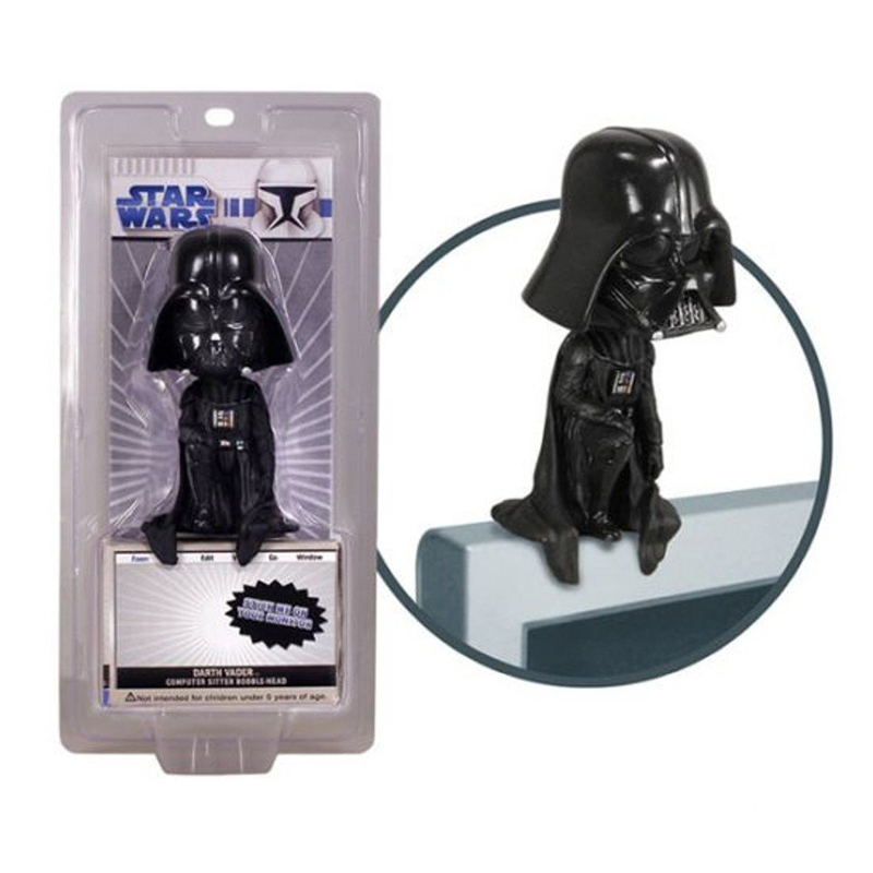 Gag Gifts - Star Wars: Darth Vader Computer Sitter