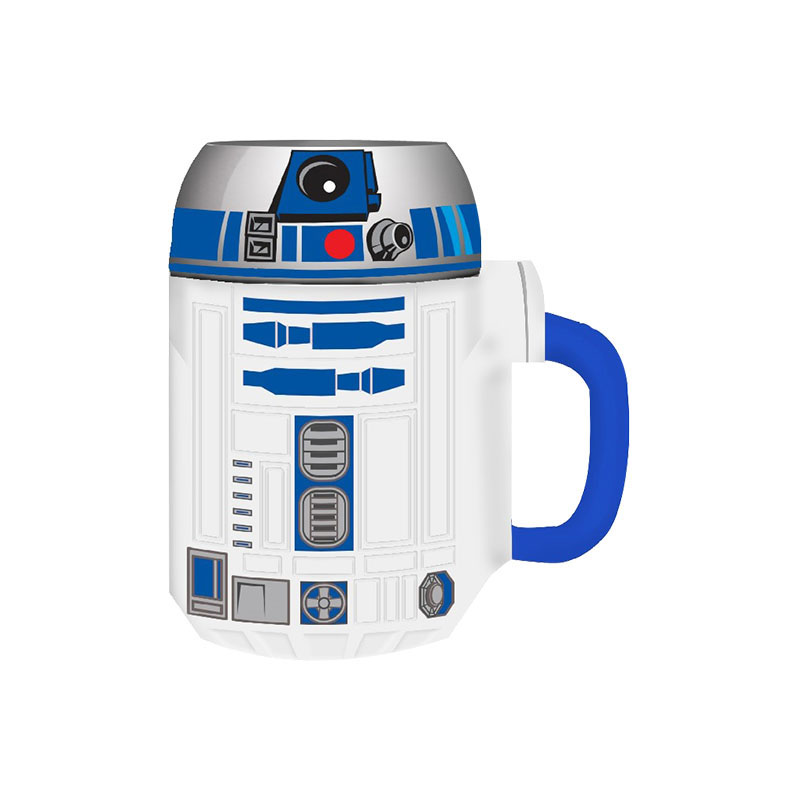 Gag Gifts - Star Wars: R2-D2 Ceramic Sculpted Mug