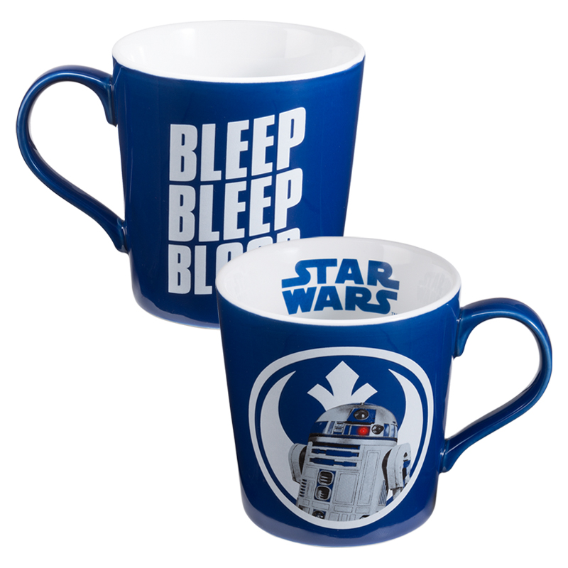 Gag Gifts - Star Wars: R2D2 Ceramic Mug