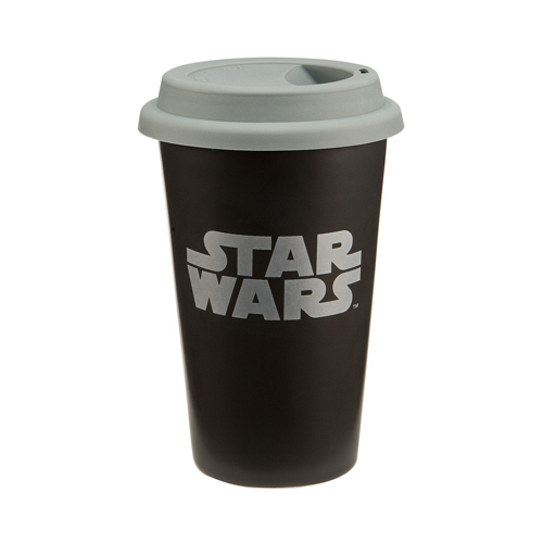 Gag Gifts - Star Wars 12 oz. Double Wall Ceramic Travel Mug