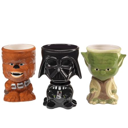Gag Gifts - Star Wars Goblets & Hot Cocoa