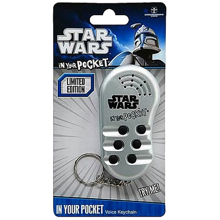 Gag Gifts - Star Wars In Your Pocket Talking Keychain